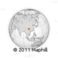 Outline Map of Naxi