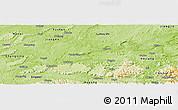 Physical Panoramic Map of Naxi