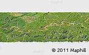 Satellite Panoramic Map of Naxi