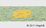 Savanna Style Panoramic Map of Naxi