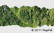 Satellite Panoramic Map of Ningnan