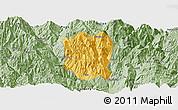 Savanna Style Panoramic Map of Ningnan