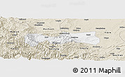 Classic Style Panoramic Map of Pingshan