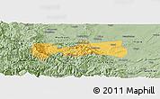 Savanna Style Panoramic Map of Pingshan