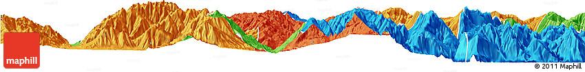Political Horizon Map of Puge