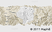 Classic Style Panoramic Map of Puge