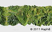 Satellite Panoramic Map of Puge