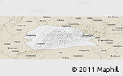 Classic Style Panoramic Map of Rong Xian