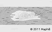 Gray Panoramic Map of Rong Xian