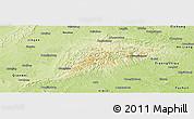Physical Panoramic Map of Rong Xian