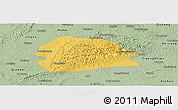 Savanna Style Panoramic Map of Rong Xian