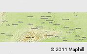 Physical Panoramic Map of Weiyuan