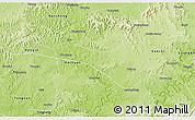 Physical 3D Map of Wusheng