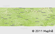 Physical Panoramic Map of Wusheng