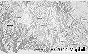 Silver Style Panoramic Map of Xiangcheng