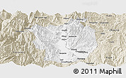 Classic Style Panoramic Map of Xichang
