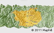 Savanna Style Panoramic Map of Xichang