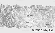Silver Style Panoramic Map of Xichang