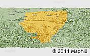 Savanna Style Panoramic Map of Xuyong