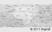 Silver Style Panoramic Map of Xuyong