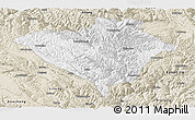 Classic Style Panoramic Map of Yajiang