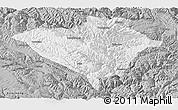 Gray Panoramic Map of Yajiang