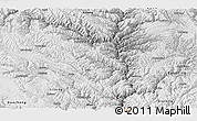 Physical Panoramic Map of Yajiang