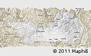 Classic Style Panoramic Map of Yanyuan