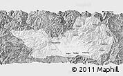 Gray Panoramic Map of Yanyuan