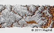 Physical Panoramic Map of Yanyuan