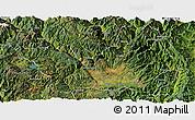 Satellite Panoramic Map of Yanyuan