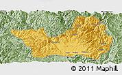 Savanna Style Panoramic Map of Yanyuan