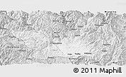 Silver Style Panoramic Map of Yanyuan