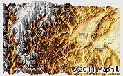 Physical 3D Map of Yingjing