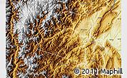 Physical Map of Yingjing
