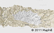 Classic Style Panoramic Map of Yingjing