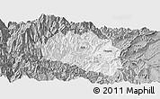 Gray Panoramic Map of Yingjing