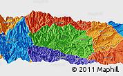 Political Panoramic Map of Yingjing