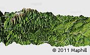 Satellite Panoramic Map of Yingjing