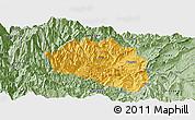 Savanna Style Panoramic Map of Yingjing