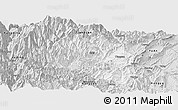 Silver Style Panoramic Map of Yingjing