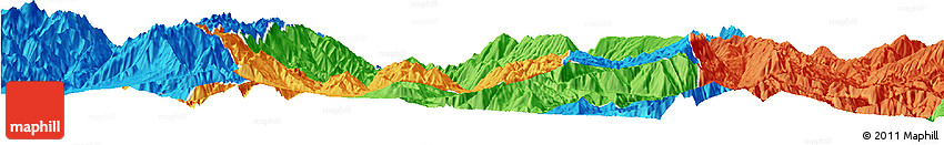 Political Horizon Map of Yuexi