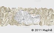 Classic Style Panoramic Map of Yuexi