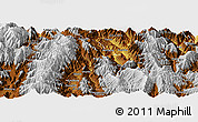 Physical Panoramic Map of Yuexi