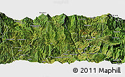 Satellite Panoramic Map of Zhaojue