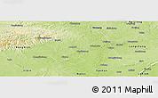 Physical Panoramic Map of Zigong Shiqu