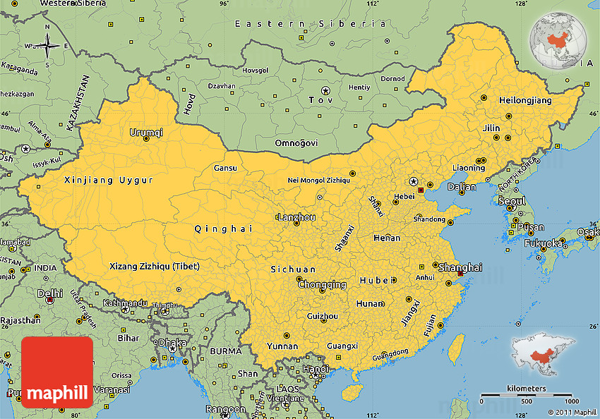 China map simple afp cv china map simple gumiabroncs Image collections