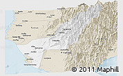 Classic Style Panoramic Map of Gaoxiong