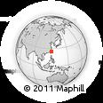 Outline Map of Taibei Shi