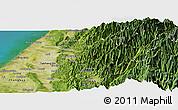 Satellite Panoramic Map of Taizhong